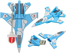 32GB USB Flash Drive Plane with Chain Novelty Pen Drive Gift School Kids Computer U Disk Aircraft Pendrive