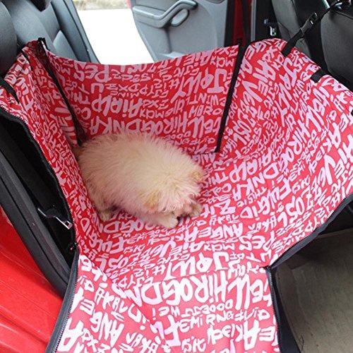 Kaxima Oxford chiffon Pet voiture coussin chien avec voiture chien mat anti-sale imperméable à l'eau de la ' monoplace rangée arrière, 60 * 50 * 35 cm