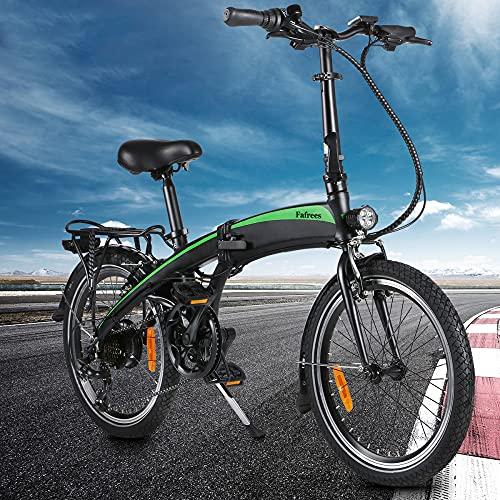 Bicicleta Montaña Adulto, 250W 36V 7.5Ah Litio-Ion Ebike Montaña Hombres, Tres Modos...