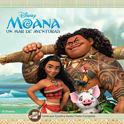 Moana (Spanish Edition) audiobook cover art