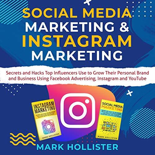 Social Media Marketing & Instagram Marketing audiobook cover art