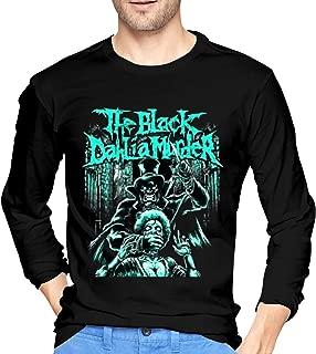 KayiKama The Black Dahlia Murder Men's Long-Sleeve Premium Comfort Soft T-Shirt Black