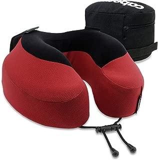 Cabeau Evolution S3 Travel Pillow – Scientifically Best Seated Sleep – Plush Memory Foam Support – Ergonomic Design Prevents Neck Strain