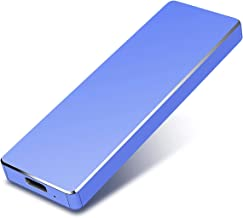 Disco Duro Externo 1tb USB 3.1 para Mac, PC, PS4,MacBook, Chromebook, Xbox (1tb, Azul)
