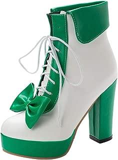 JOJONUNU Women Sweet Lolita Shoes Platform High Heels