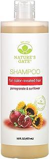 Natures Gate Shampoo, Vegan, Hair Defense, Pomegranate + Sunflower