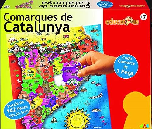 Jac Puzzle COMARQUES DE Catalunya 142 Peces