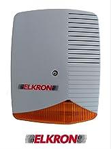 80HP1B00211 Sirena da interno in contenitore metallico ELKRON HP375M COD Omologata NFA2P.