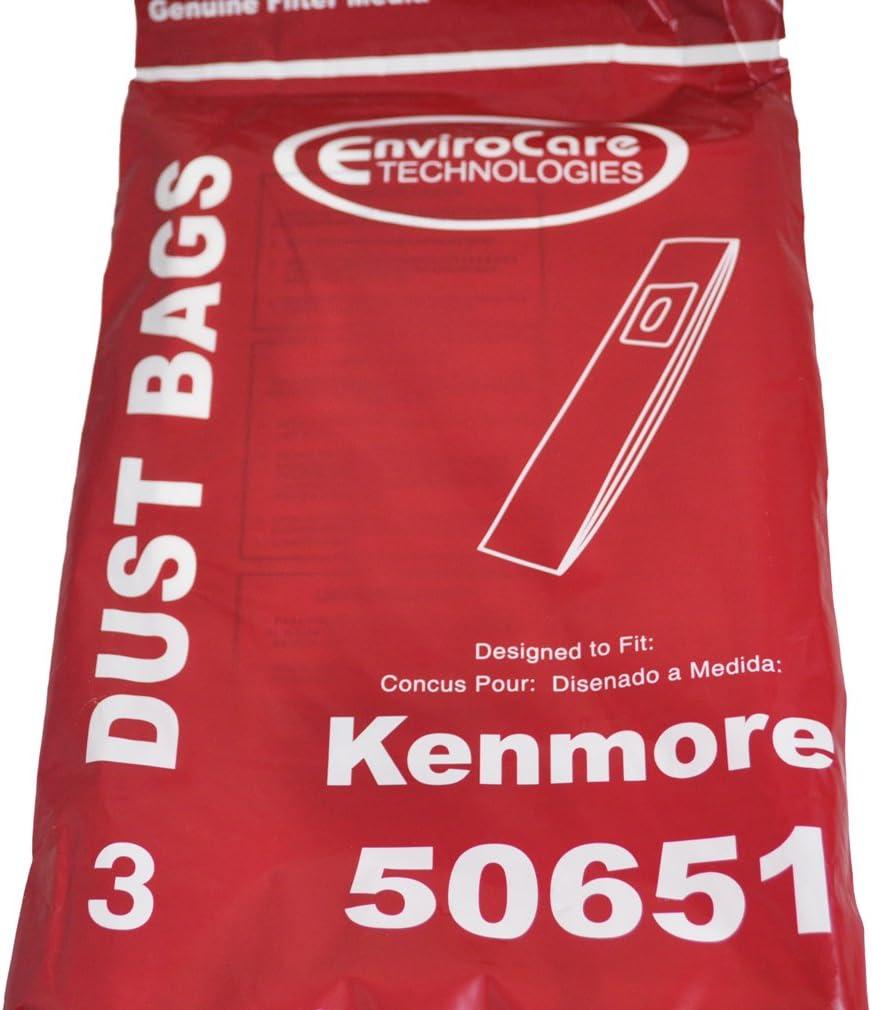 Kenmore Over item handling 50651 Upright Alternative dealer Vacuum Per pack 3 Bags