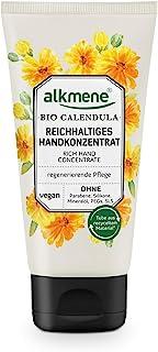 alkmene Handkonzentrat mit Bio Calendula - Reichhaltige Handcreme für sehr trockene Hände & rissige Hände - vegane Creme ohne Silikone, Parabene, Mineralöl, PEGs, SLS & SLES 1x 75 ml