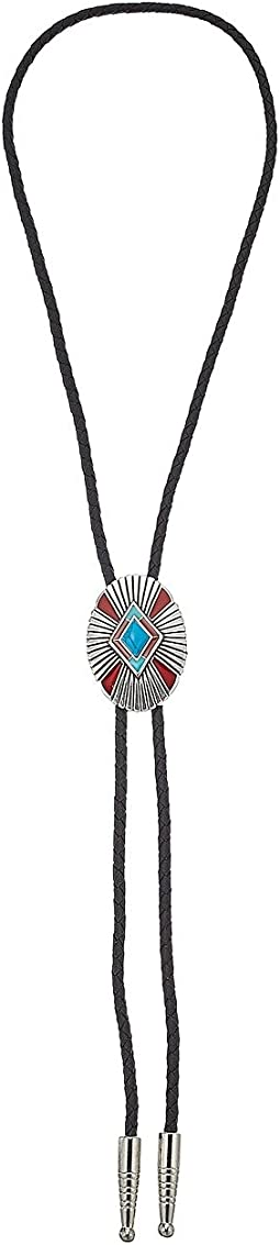 Turquoise/Red Pendant