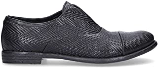 PAWELKS Men's 15327NE Black Leather Lace-Up Shoes