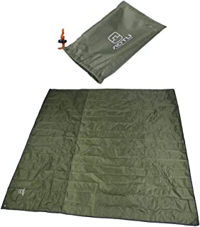 AKORD ho-70/Extra Grande Verde Picnic Manta Alfombrilla para Acampada Festival Base de PVC 2/m x 1,5/m de Playa 150/x 200/x 0,2/cm