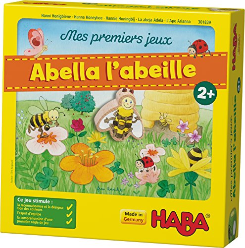 HABA Mis Primeros Juegos - Abella la Abeja - Juego cooperativo de...