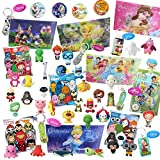 Disney World of Disney Looksee Blind Bags Box   Includes 7 Official Disney Themed Blind Bags for Girls and Boys   Random Disney, Pixar, and Marvel Themed Keychains & Disney Buttons
