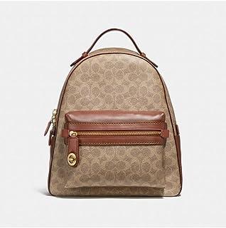 Coach Campus Ladies Medium Multi-Color Canvas Casual Backpack 32754 B4NQ4
