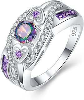 Best rainbow topaz sterling silver ring Reviews