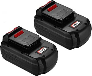 Upgraded Powerextra 2 Pack 18V 3.7Ah Replacement Battery Compatible with Porter Cable PC18B-2 18-Volt Cordless Tools Batteries