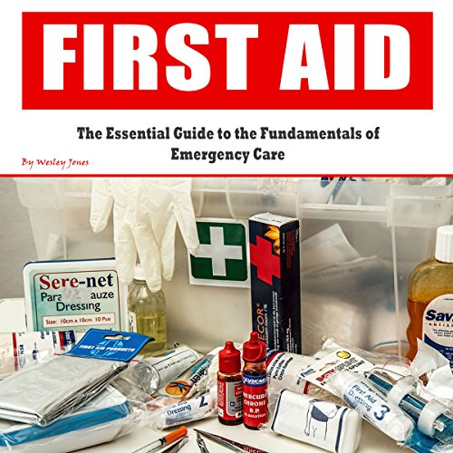 First Aid     The Essential Guide to the Fundamentals of Emergency Care              By:                                                                                                                                 Wesley Jones                               Narrated by:                                                                                                                                 Rick Paradis                      Length: 1 hr and 5 mins     1 rating     Overall 3.0