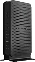 NETGEAR Renewed C3700-100NAR C3700-NAR DOCSIS 3.0 WiFi Cable Modem Router with N600 8x4 Download speeds. Certified for Xfi...
