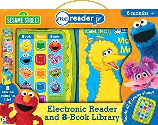 Sesame Street Me Reader Jr. (Electronic Reader and 8-Book Library (1905-07-20) [Board book]