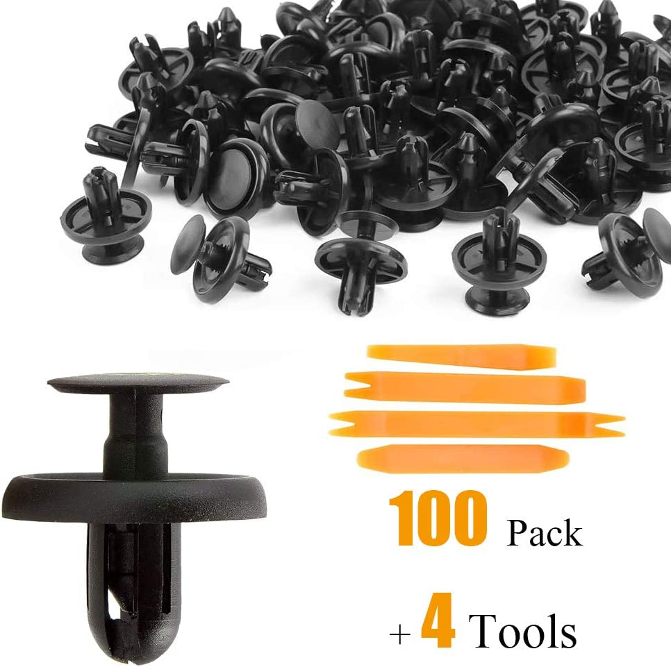Tata.Meila 100 2021new shipping free Pcs Car Body Toyota Push-Type Product Retainer for Clips