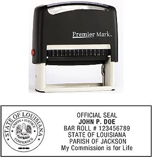 louisiana notary stamp