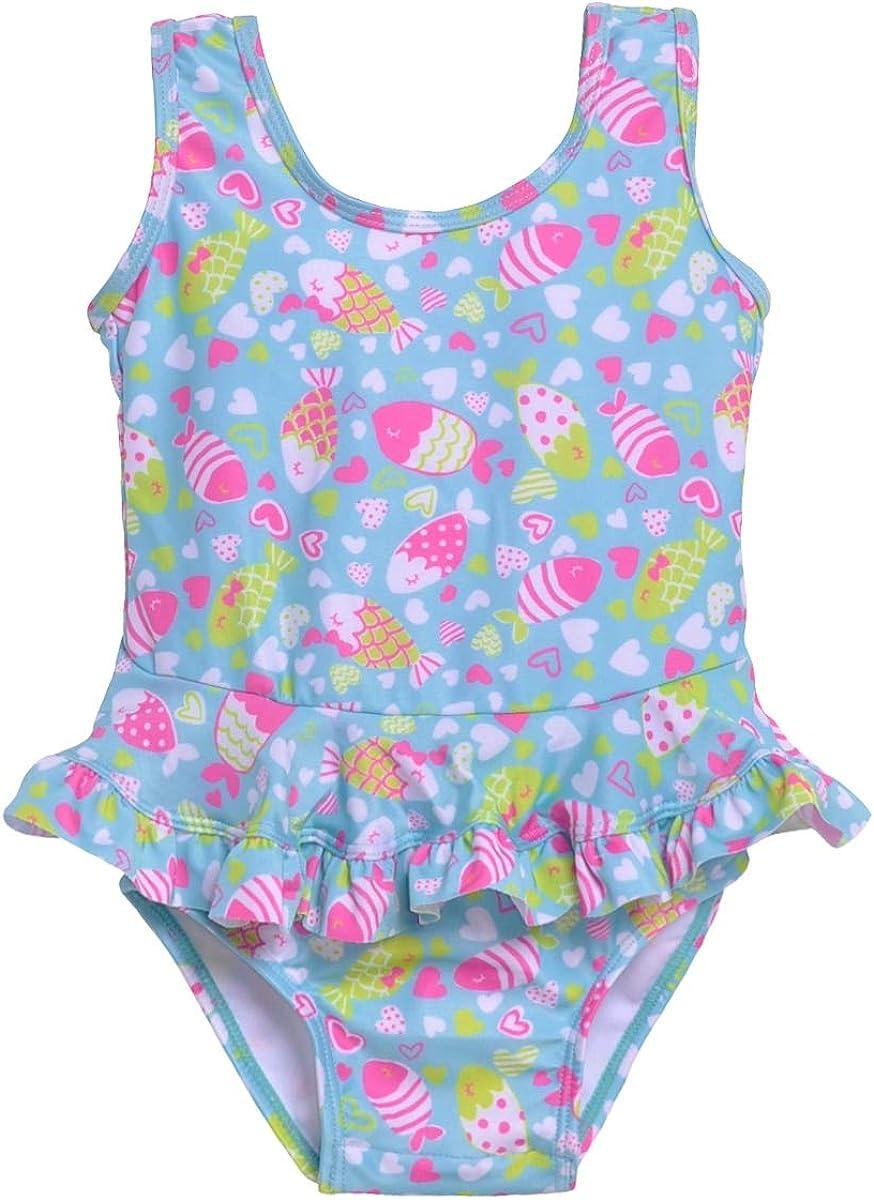保証 Flap Happy Girls' Swimsuit 即納