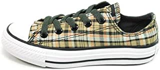Kids' AS Specialty Ox Pre/Grd (Olive/Grey Plaid 12.0 M)