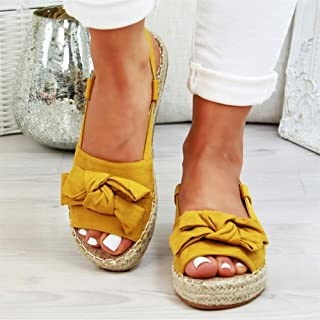 Women Sandals Summer Flat Sandals Beach Casual Shoes With Low Heels Platform Sandals Wedge Sandals