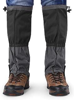 FANGHUA Schneestiefel Leggings wasserdichte Gamaschen Winter Outdoor Sports Schuhe Abdeckung f/ür Klettern Wandern pink-M