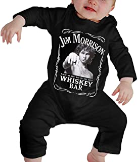 Bodysuit Baby, Jim Morrison Show Me The Way to Next Whiskey Bar Organic Baby Toddler Bodysuit Baby Clothes
