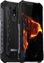 """$420 Get Ulefone Armor 6 Unlocked Cell Phone,IP68 Waterproof Android 8.1 Outdoor Rugged Smartphone, 6.2"""" 19:9 FHD+, 6GB + 128GB, Dual 4G LTE Global Bands, 5000mAh Battery, Shockproof Dustproof Mobile (Black)"""