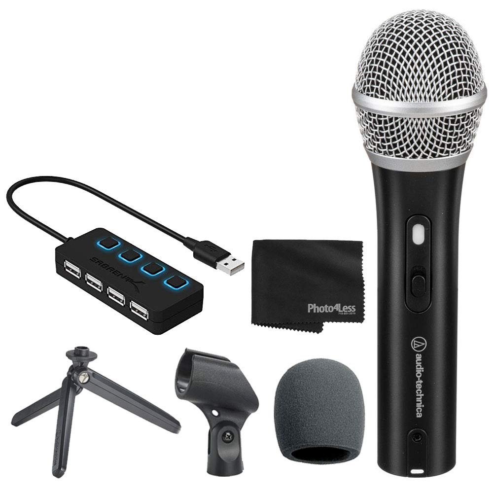 Microfono Audio-Technica ATR2100x-USB Cardioid Dynamic USB/X