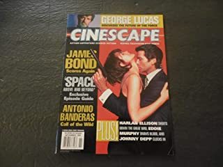 Cinescape Nov 1995 George Lucas; James Bond; Space Above And Beyond