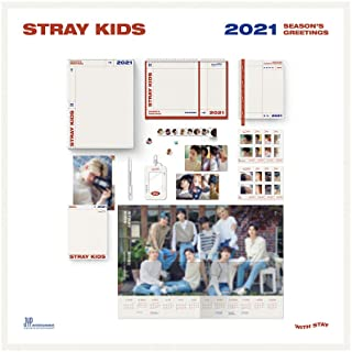 Stray Kids 2021 Seasons Greetings (Incl. Package, Calendar, Diary, Post Card Book, Photocard Set, Roll Sticker, Book Mark ...