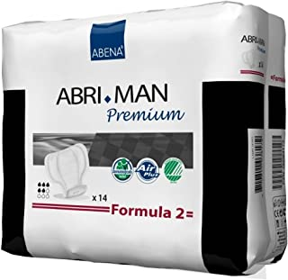 Abena Abri-Man Formula 2 Incontinence Liner - 41007CS - 168 Each / Case