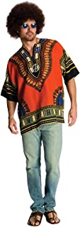 Costume Heroes And Hombres Men's Hippie Shirt And Wig