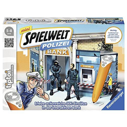 Ravensburger tiptoi mini Spielwelt Polizei: SEK-Einsatz - 00775 / Spielend den Alltag des Spezialeinsatzkommandos erleben