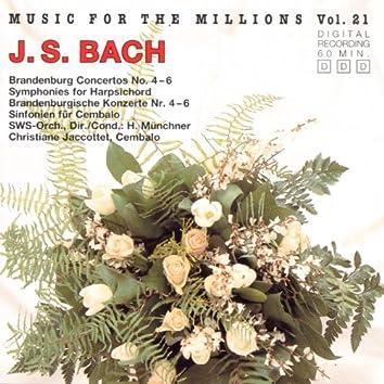 Music For The Millions Vol. 21 - Johann Sebastian Bach