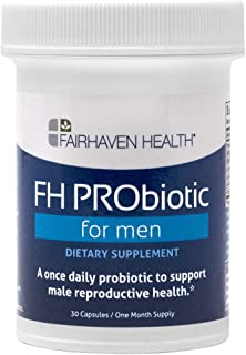 FH PRObiotic for Men to Support Male Fertility – Unique Combination of 6 Probiotic Strains