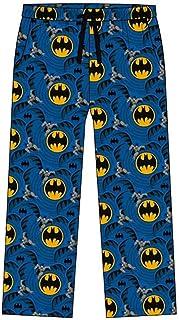 Mens Batman Lounge Pants 31579 Blue Large