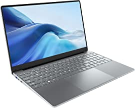 KUU Ordenador Portátil 15.6'', 8GB RAM 256GB SSD, Inter Celeron J4125 up to 2.7GHz Notebook, Monitor de PC portátil FHD, W...