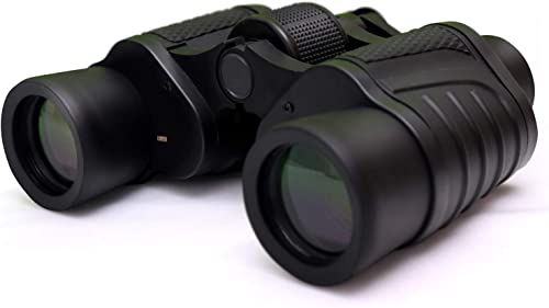 Kurtzy 8X40 mm Outdoor Binocular for Long Distance with Pouch Black