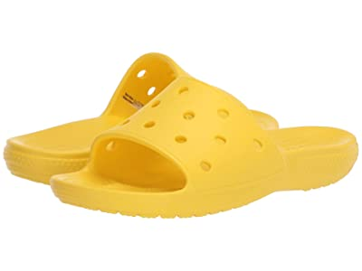 Crocs Classic Slide (Lemon) Shoes