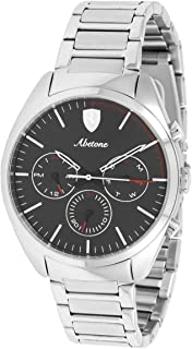 Ferrari Mens Quartz Watch, Chronograph Display and Stainless Steel Strap 830505