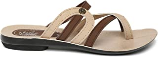 PARAGON SOLEA Women's Brown Flip-Flops