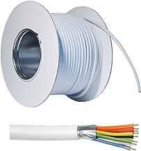 ABUS Alarmkabel AZ6360 50 m 8-aderig afgeschermd corrosiebestendig vertind gemakkelijk te ontmantelen, wit