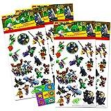 Lego Batman Stickers Party Favors Pack - 24 Sheets of Lego Batman Stickers Bundle