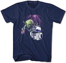 Camiseta Hombre Zombie Joda Vs. R2D2 Star Movie Wars Cine